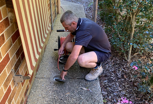blocked drain plumber Brisbane region